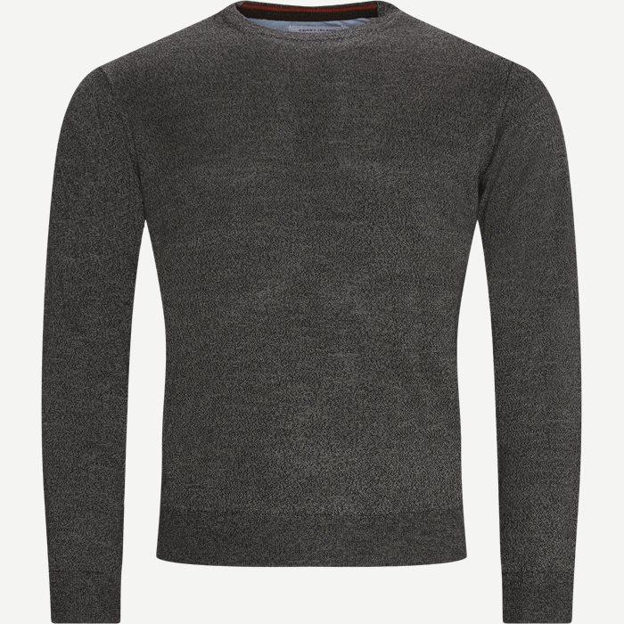 Lipan Striktrøje - Stickat - Regular - Grå